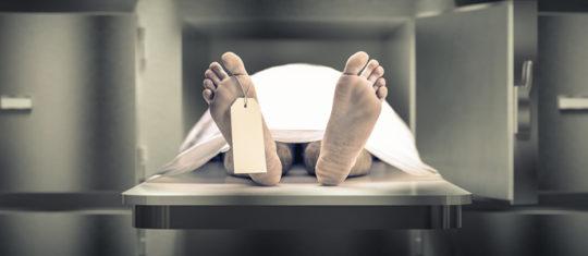 Constat de décès à l'hôpital