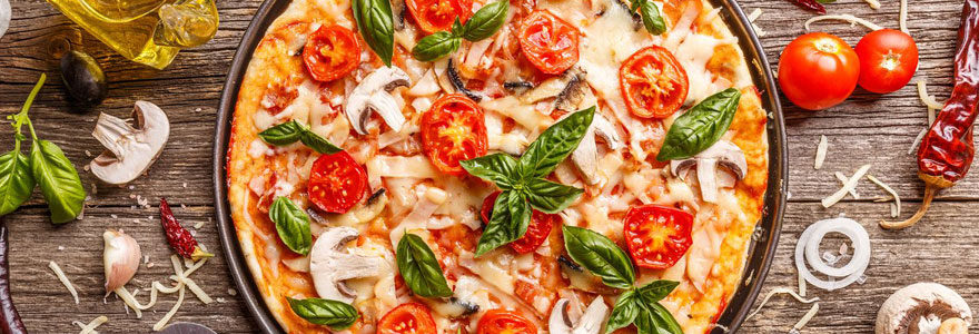 Commander des pizzas